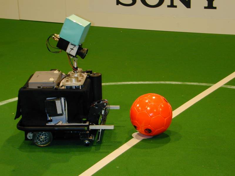 Fußball Bot der Middle-Size