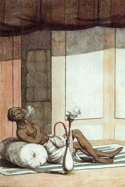 Ein Hindu entspannt